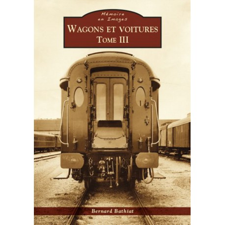 Wagons et voitures - Tome III Recto