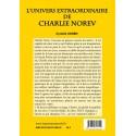 L'univers extraordinaire de Charlie Norev  Verso