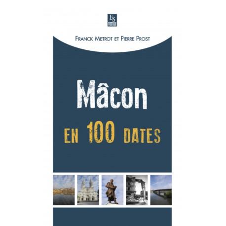 Mâcon en 100 dates Recto