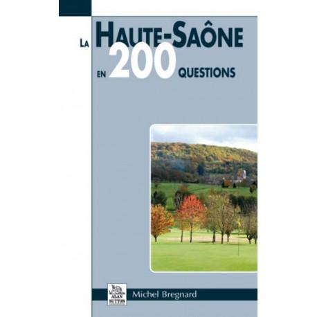 Haute-Saône en 200 questions (La) Recto