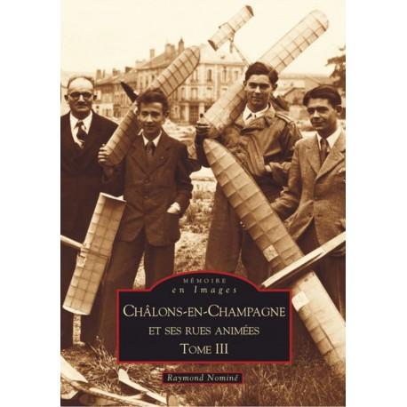 Châlons-en-Champagne et ses rues animées - Tome III Recto