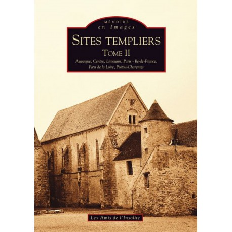 Sites templiers - Tome II Recto