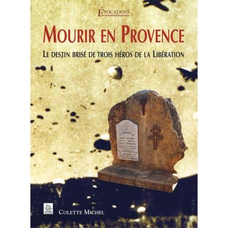 Mourir en Provence Recto