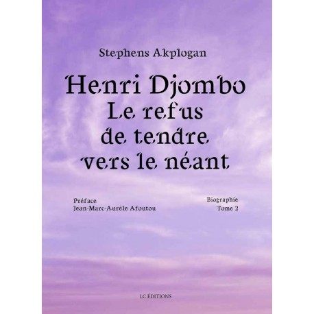 Henri Djombo, le refus de tendre vers le néant - Tome 2 Recto