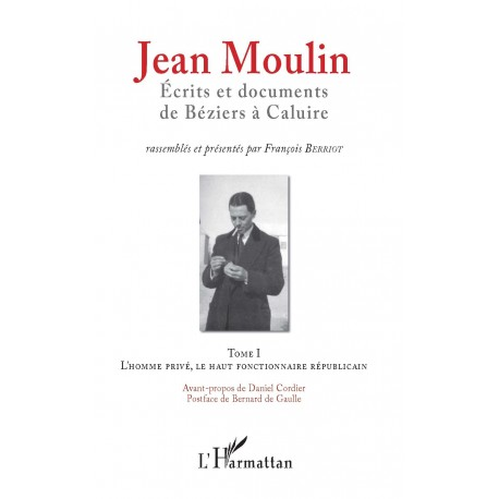 Jean Moulin, Écrits et documents de Béziers à Caluire Recto