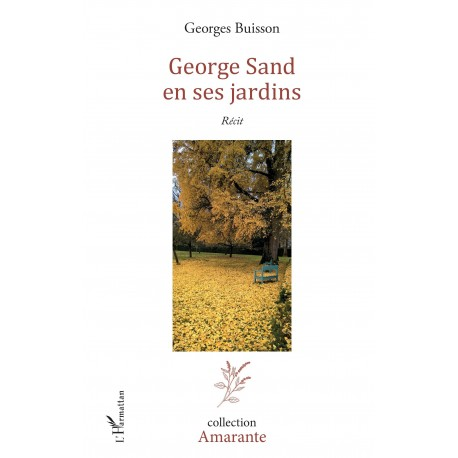 George Sand en ses jardins Recto