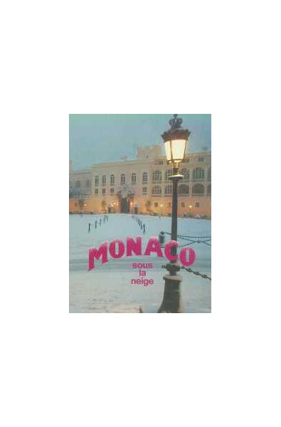 Monaco sous la neige