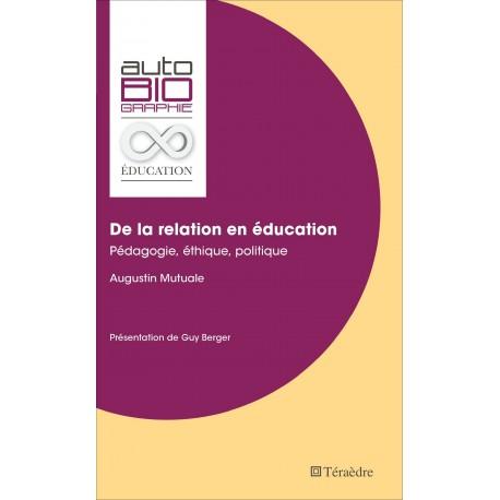 De la relation en éducation Recto