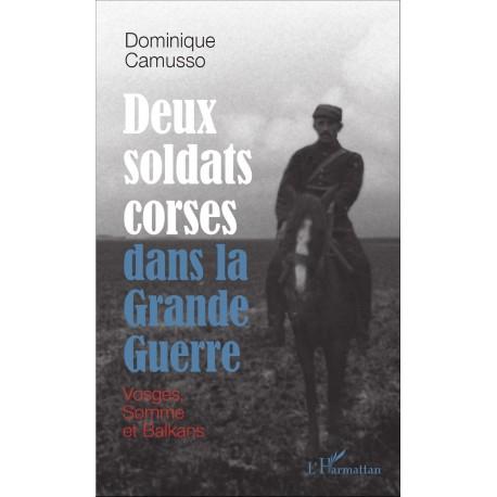 Deux soldats corses dans la Grande guerre Recto