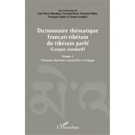 Dictionnaire thématique français-tibétain Recto