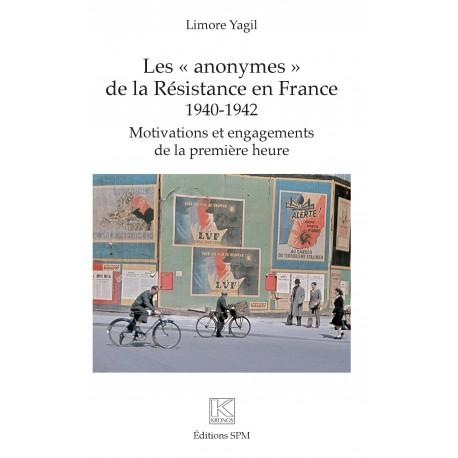 """Les """"anonymes"""" de la Résistance en France Recto"""