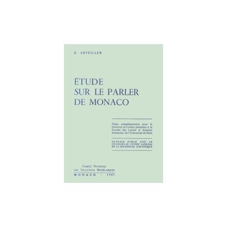 Etude sur le parler de Monaco Recto