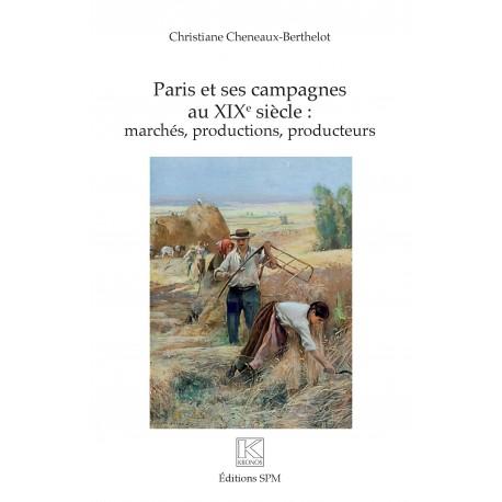 Paris et ses campagnes au XIXe siècle Recto