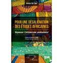 Pour une désaliénation des études africaines  Recto