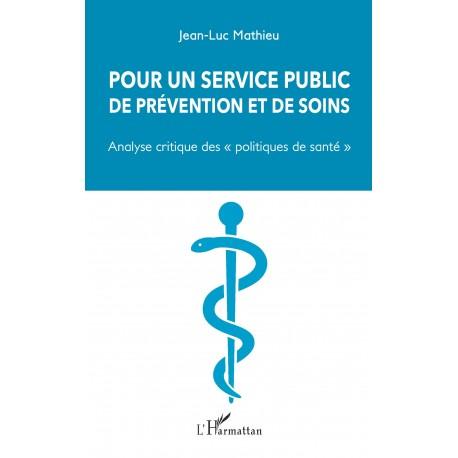 Pour un service public de prévention et de soins Recto