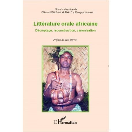 Littérature orale africaine Recto
