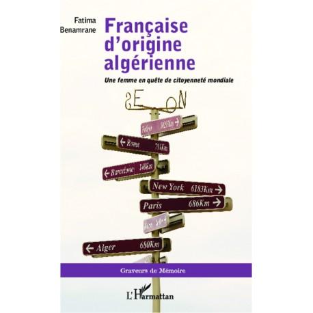 Française d'origine algérienne Recto