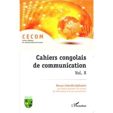 Cahiers congolais de communication (Vol. X) Recto