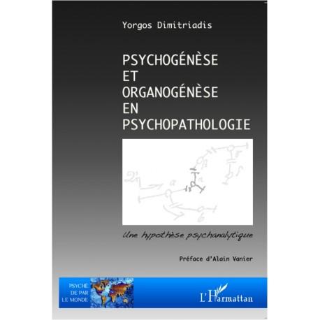Psychogénèse et organogénèse en psychopathologie Recto