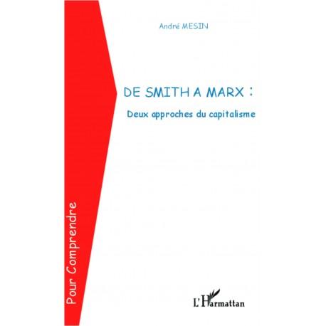 De Smith à Marx : Deux approches du capitalisme Recto
