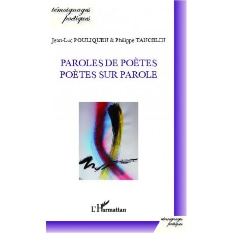 Paroles de poètes, poètes sur parole Recto