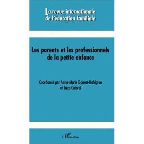 Les parents et les professionnels de la petite enfance Recto