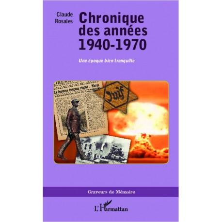 Chronique des années 1940-1970 Recto