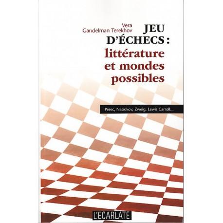 Jeu d'échecs : littérature et mondes possibles Recto