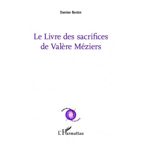 Le livre des sacrifices de Valère Méziers Recto