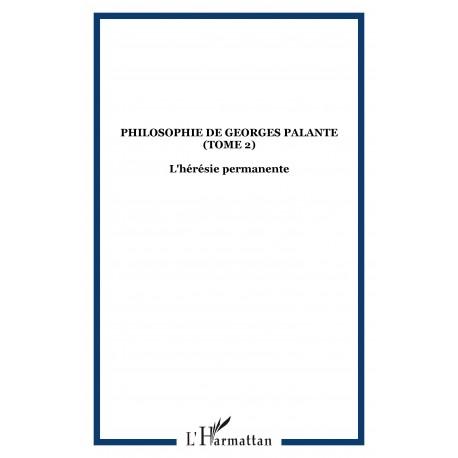 Philosophie de Georges Palante (Tome 2) Recto
