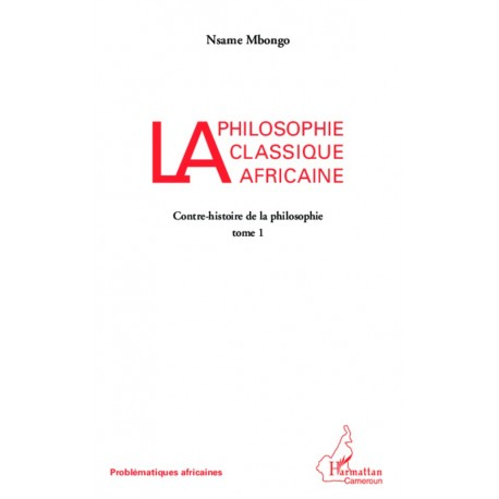 La philosophie classique africaine Recto