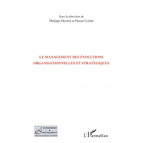 Management des évolutions organisationnelles et stratégiques Recto