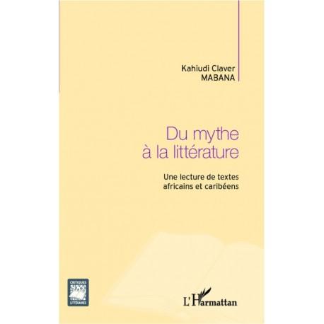Du mythe à la littérature Recto