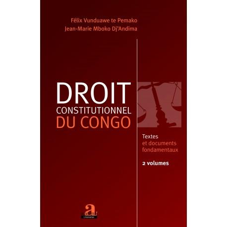 Droit constitutionnel du Congo (Volume 1 et 2) Recto