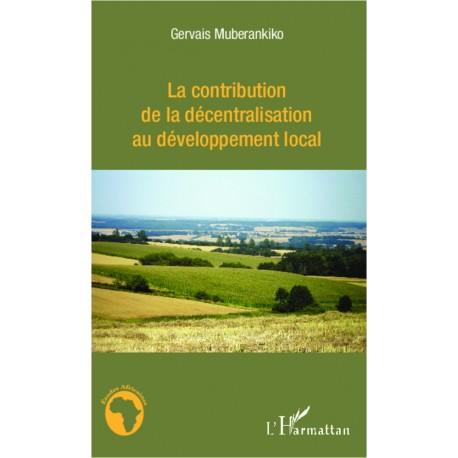 La contribution de la décentralisation au développement local Recto