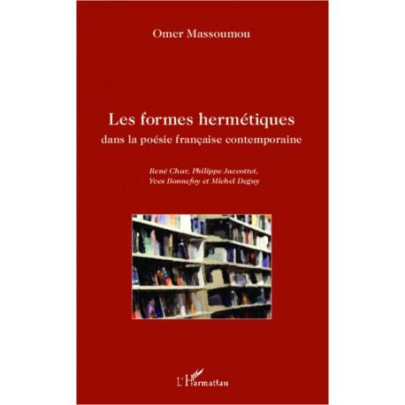 Les formes hermétiques dans la poésie française contemporaine Recto