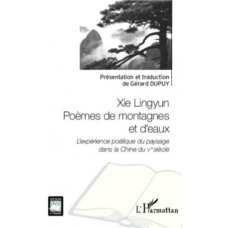 Xie Lingyun Poèmes de montagnes et d'eaux Recto