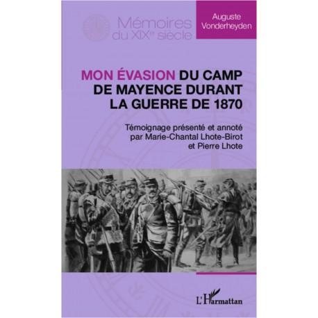 Mon évasion du camp de Mayence durant la guerre de 1870 Recto