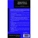 Subjectivités et rapports sociaux Verso