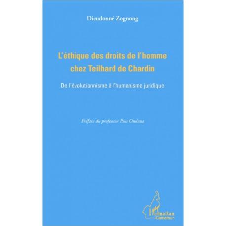 L'éthique des droits de l'homme chez Teilhard de Chardin Recto
