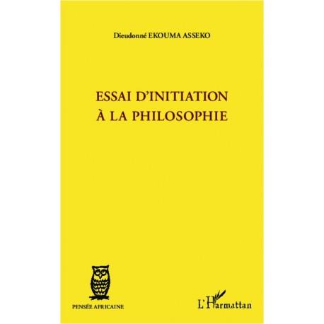 Essai d'initiation à la philosophie Recto