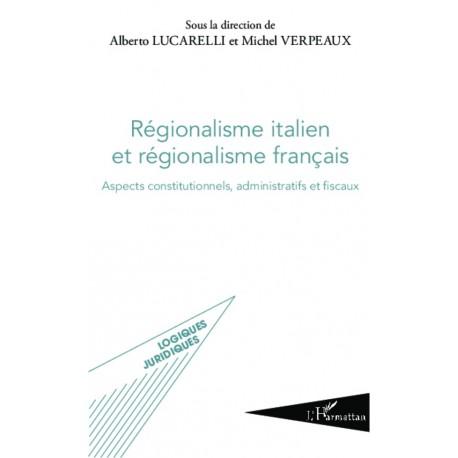 Régionalisme italien et régionalisme français Recto
