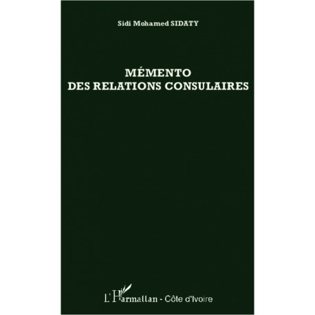 Mémento des relations consulaires Recto