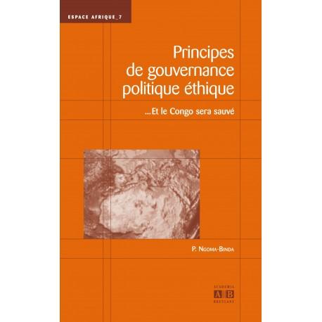 PRINCIPES DE GOUVERNANCE POLITIQUE ETHIQUE... ET LE CONGO SERA SAUVE Recto