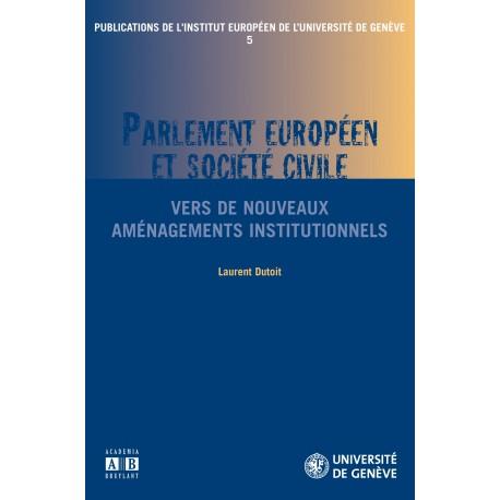 PARLEMENT EUROPEEN ET SOCIETE CIVILE Recto