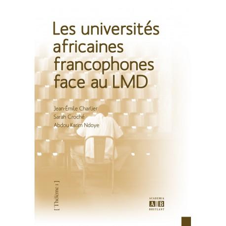 Les universités africaines francophones face au LMD Recto