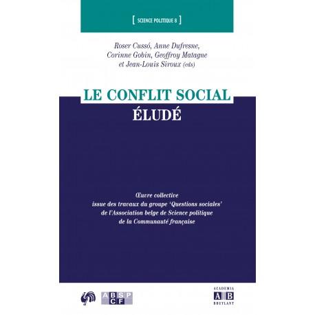 LE CONFLIT SOCIAL ÉLUDÉ Recto