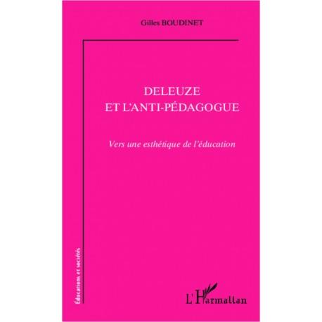 Deleuze et l'anti-pédagogue Recto