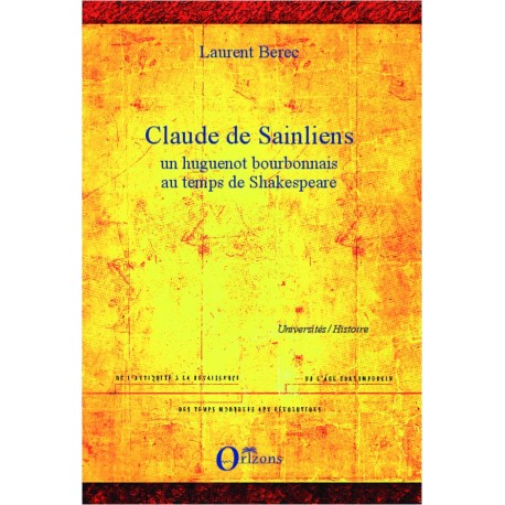 Claude de Sainliens Recto