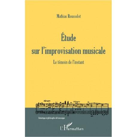 Etude sur l'improvisation musicale Recto